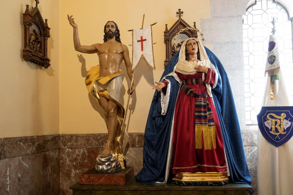 María Santísima del Amparo, vestida de hebrea para la Cuaresma 2021